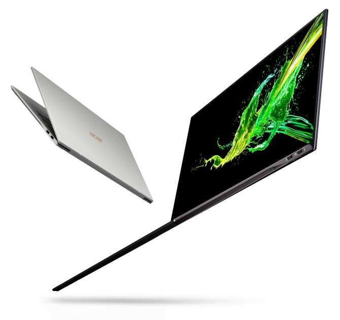 Acer Swift %92 Ekran Gövde Oranı Etkileyici Bir Deneyim Sunuyor