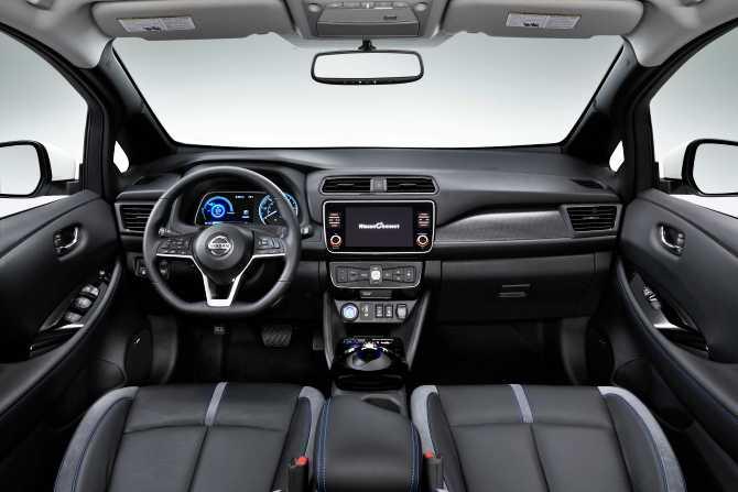 Nissan LEAF e+ iç alan