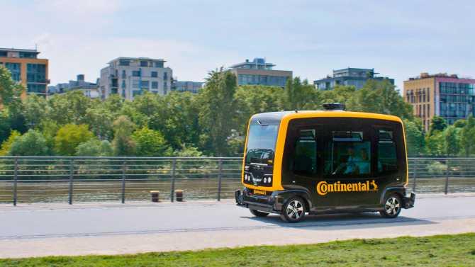 Continental ve Akıllı şehir hedefleri