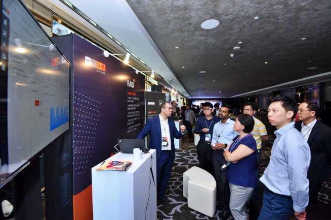 WeMeet Asia 19 Bulut Çözümleri Demo Alanı