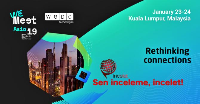 WeMeet Asya 2019 incelet.com farkıyla sizlerle olacak.